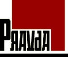 Pravda Logo Red Hot
