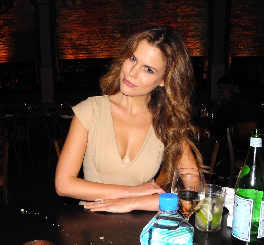 Rosalind Lipsett + Tiësto dinner