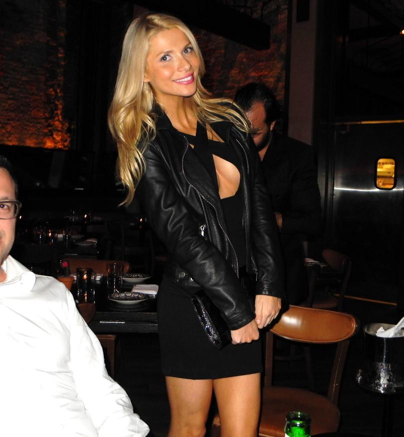 Anna Huzar + Tiësto dinner