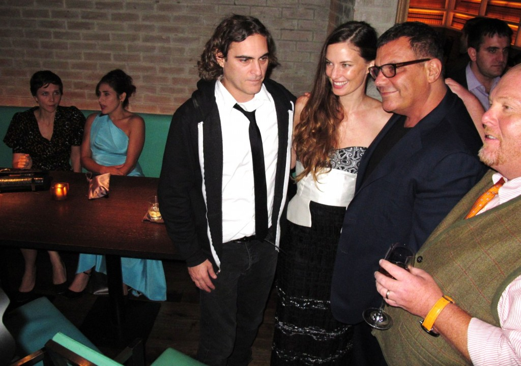 Joaquin Phoenix, Topaz Page-Green, The Lunchbox Fund hosts Fall Fete 2013