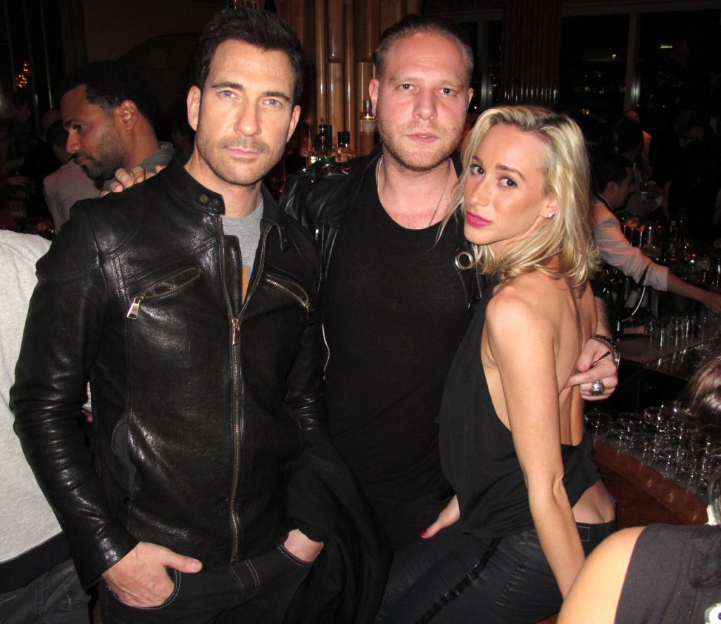 Dylan McDermott + Henry Stimler + Hunger Games + Catching Fire + premiere + party