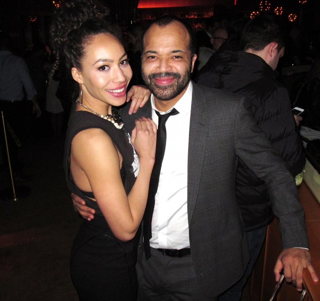 Jeffrey Wright + Hunger Games + Catching Fire + premiere + party