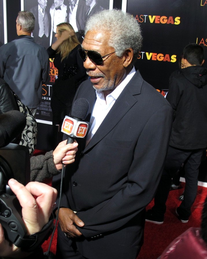 MORGAN FREEMAN + RED HOT ROSTER