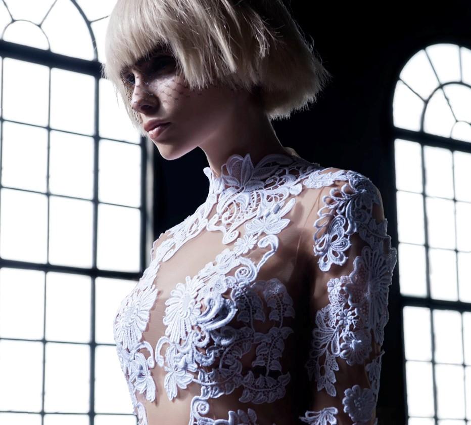 Anna Maria Olbrycht top model blonde hair