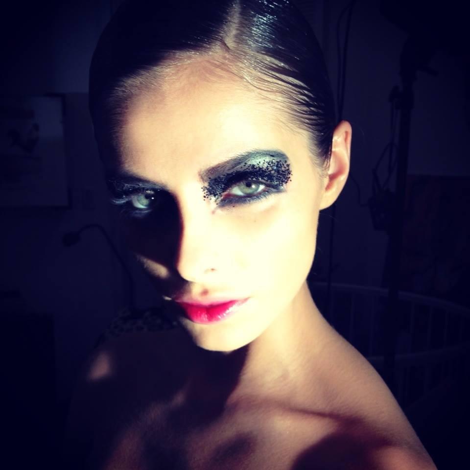 Anna Maria Olbrycht make up