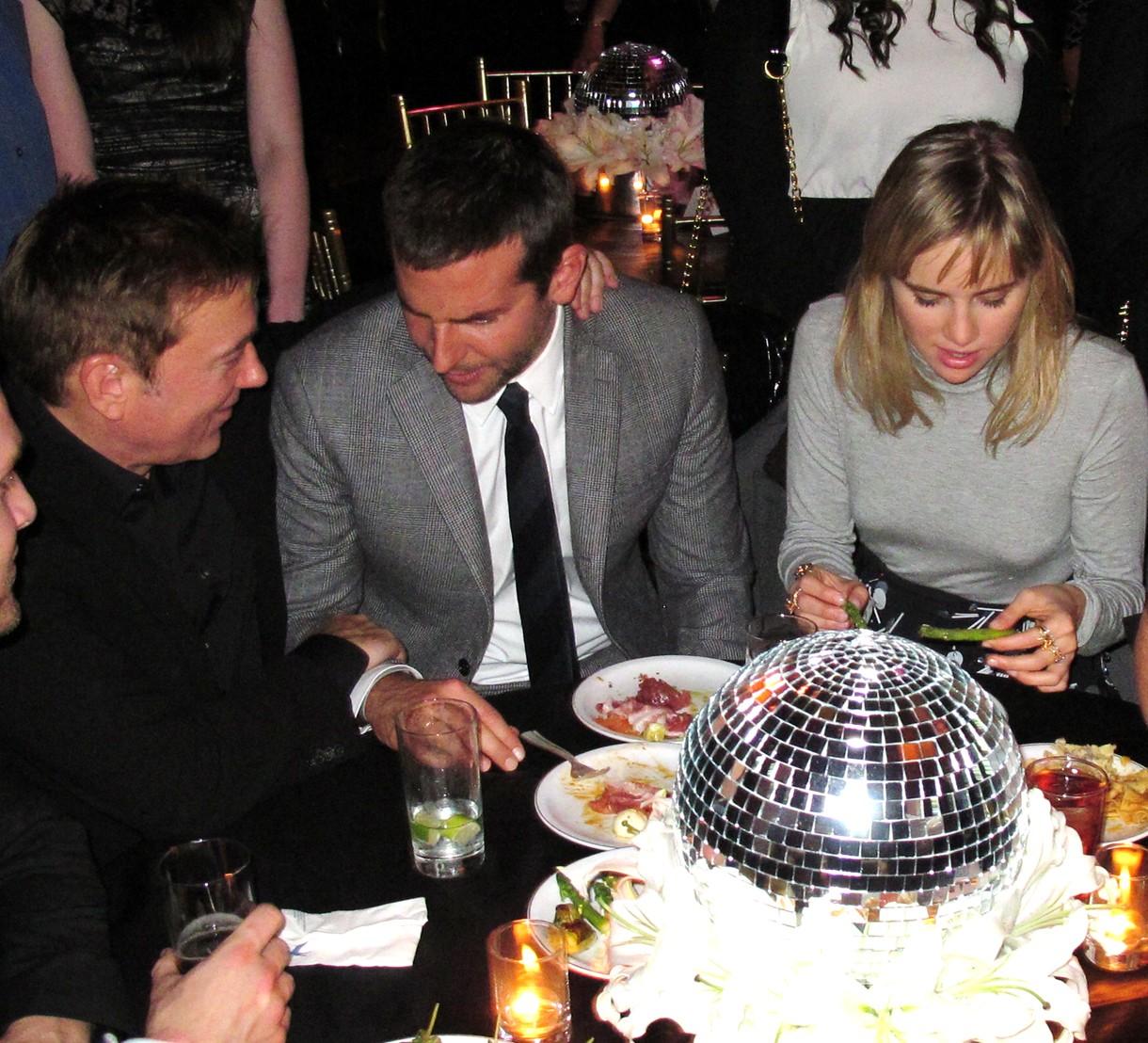 Bradley Cooper + Suki Waterhouse + American Hustle + premiere + New York