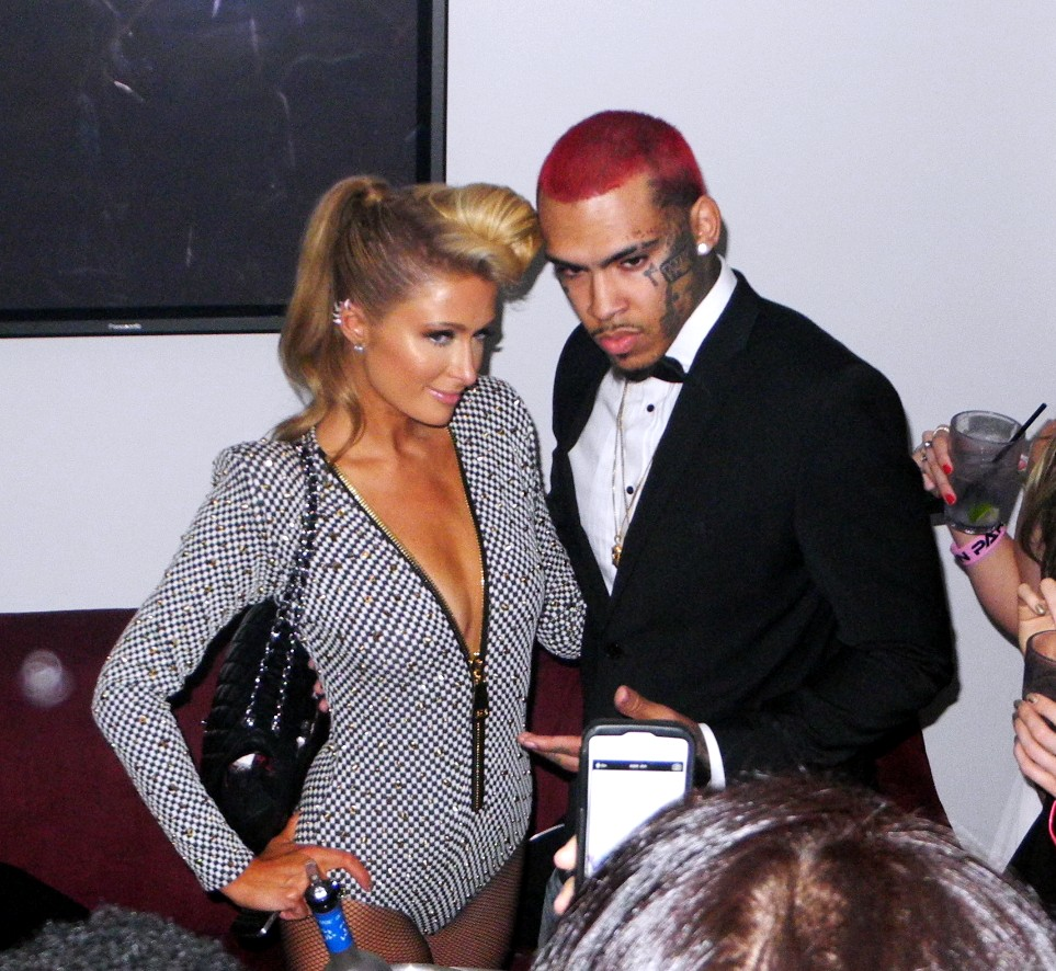Paris Hilton + Pre Grammy Party