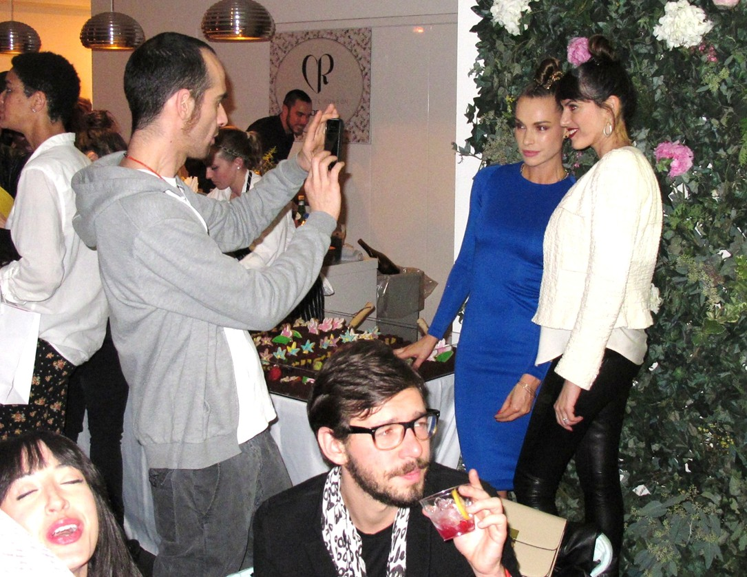 Blanda Eggenschwiler  + Vogue Eyewear + CFDA + Charlotte Ronson + Launch Party