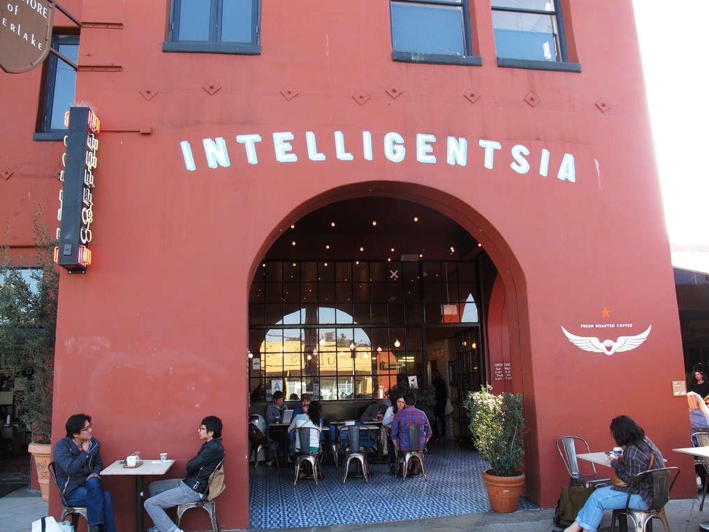 Cafe Intelligentsia + Silver Lake + Sunset Junction + Los Angeles