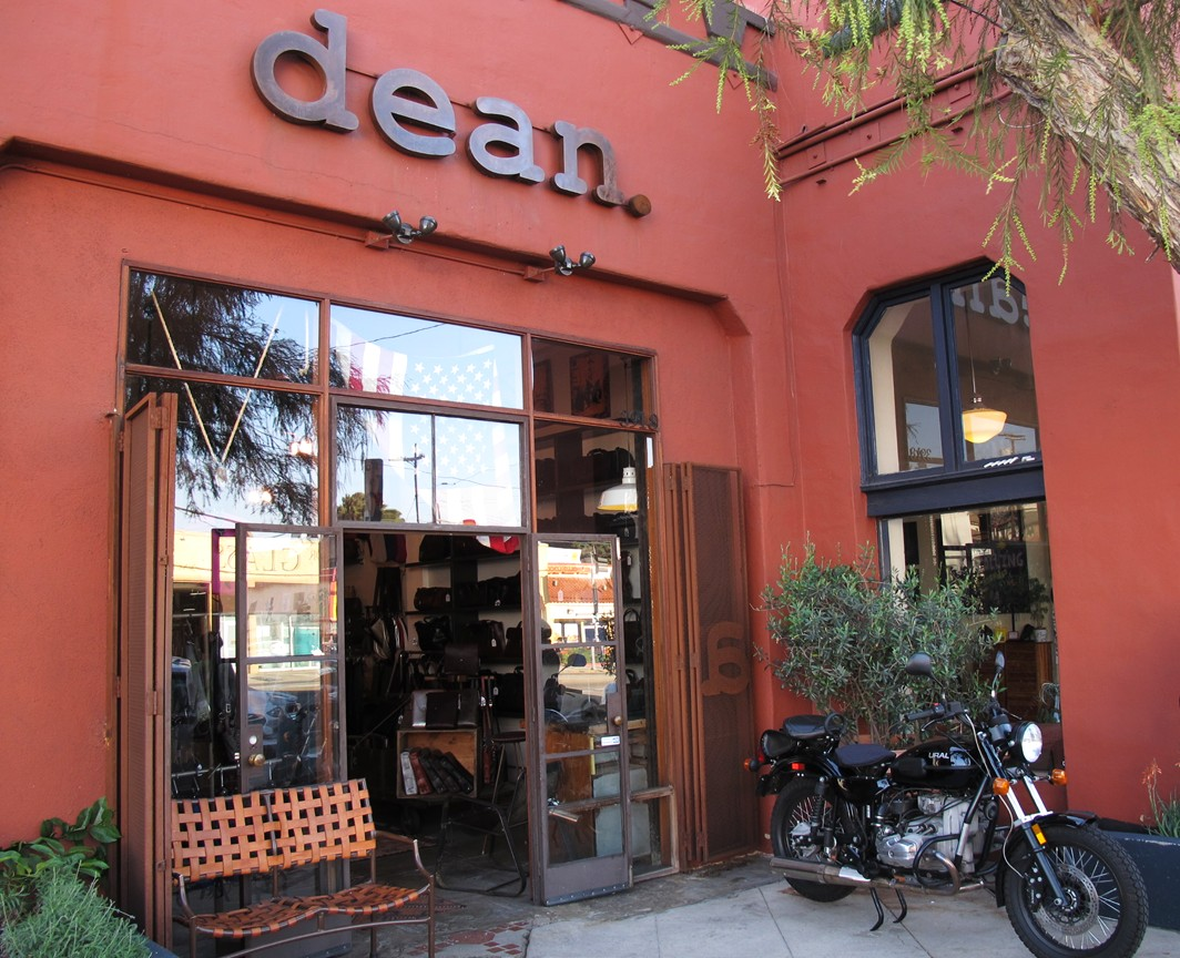 Dean + Leather + Silver Lake + accessories
