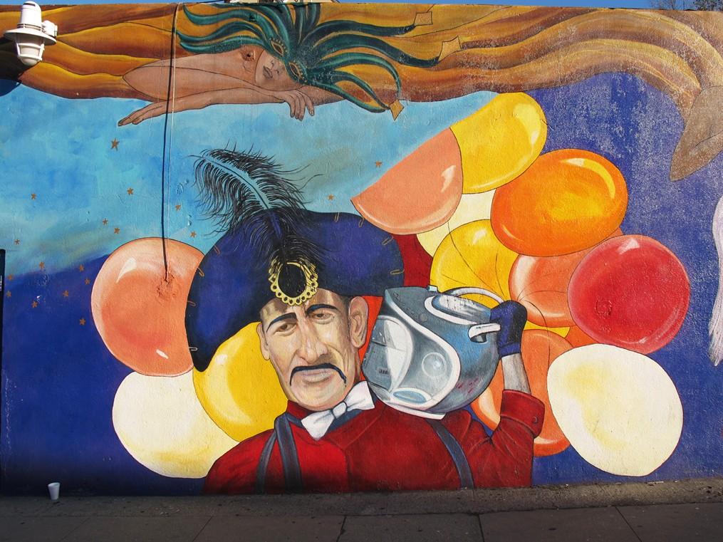 silver lake + street art