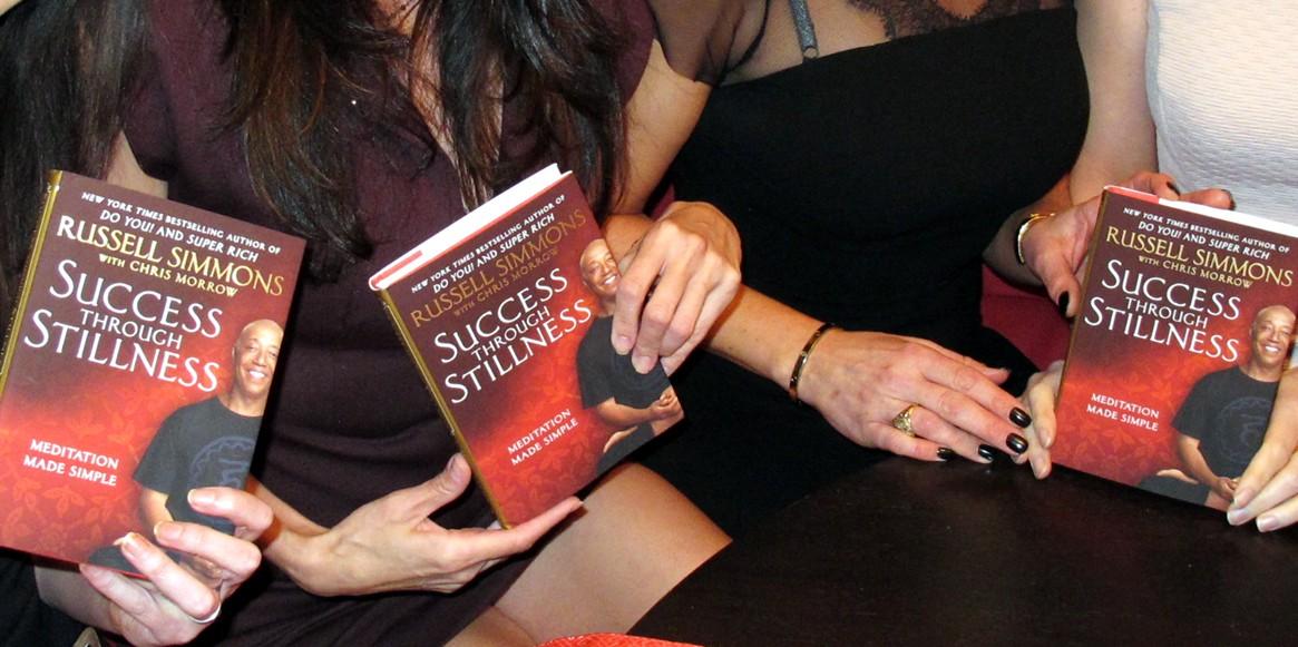 Russell Simmons + Book Launch + Success Though Stillness