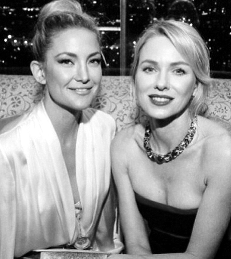 Kate Hudson + Naomi Watts + Bvlgari + Decades of Glamour