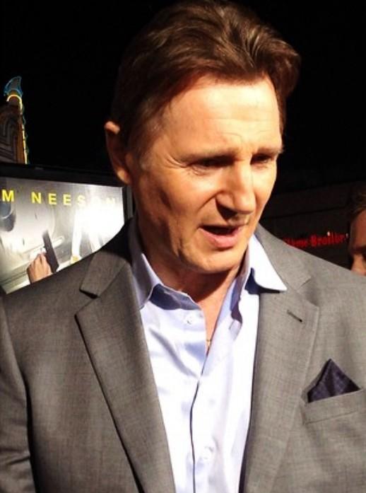 Non Stop premiere + Liam Neeson + LA