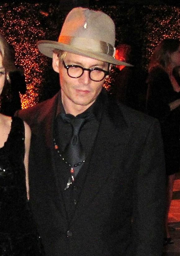 REDHOT Roster Johnny Depp January