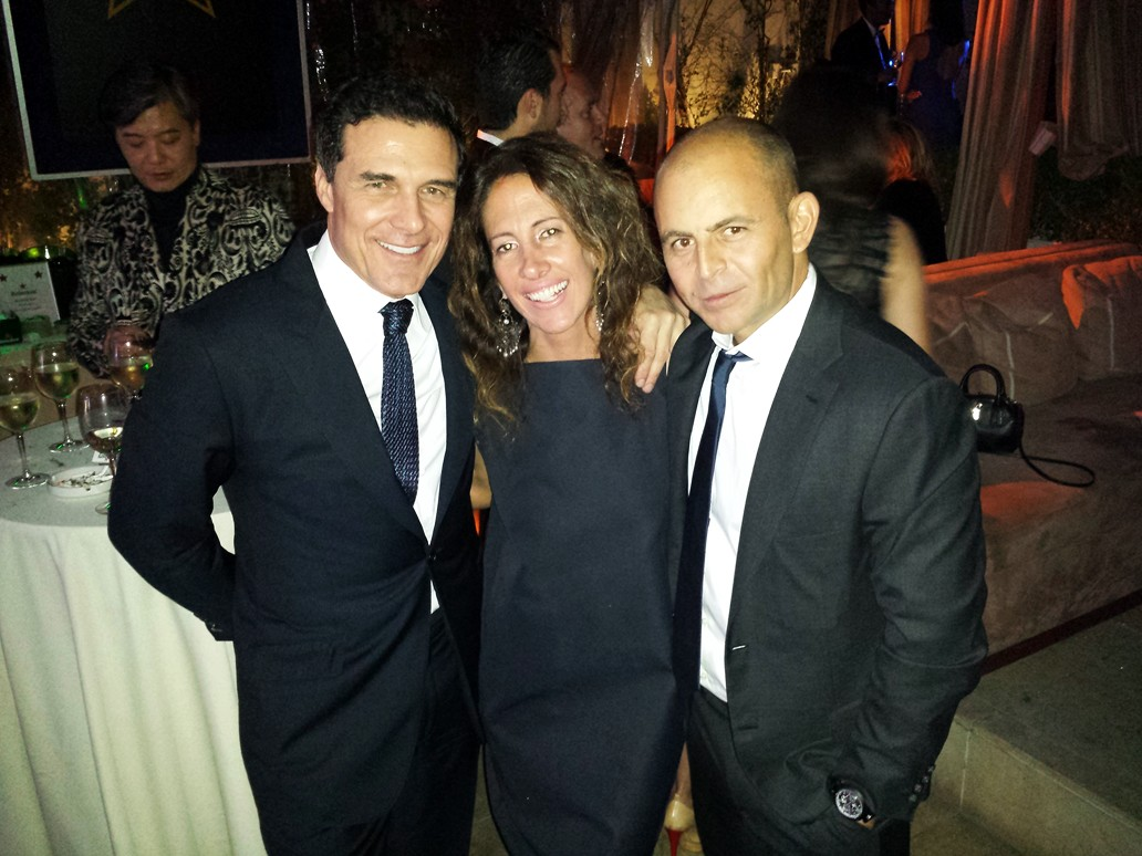 Andre Balazs + HOLLYWOOD DOMINO PRE OSCAR CHARITY SOIREE