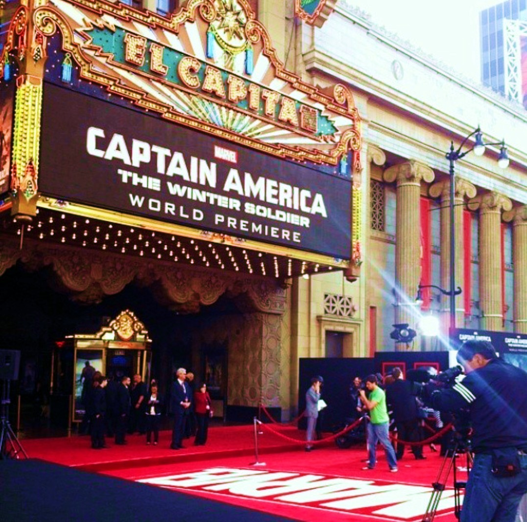 Captain America Premiere + Los Angeles + Hollywood