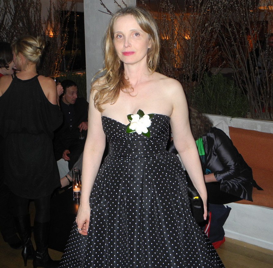 Julie Delpy + Women in Film Pre-Oscar Cocktail Party