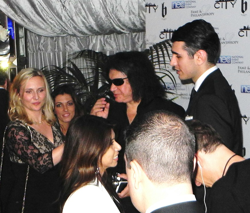 Gene Simmons + Nick Simmons + Fame and Philanthropy + Vineyard + Post Oscar + Inaugural
