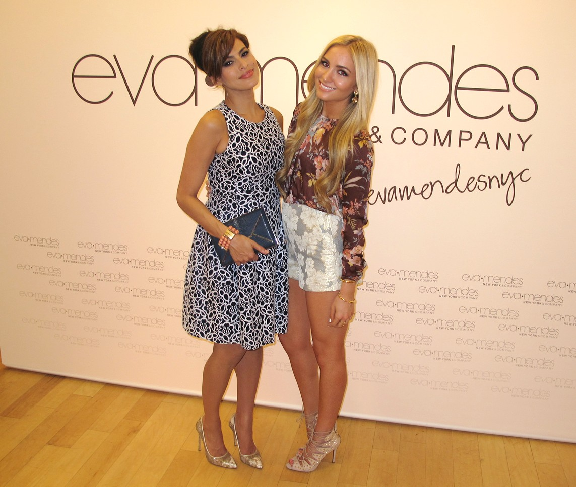 Eva Mendes_EVA MENDES FOR NEW YORK & COMPANY POP UP SHOP