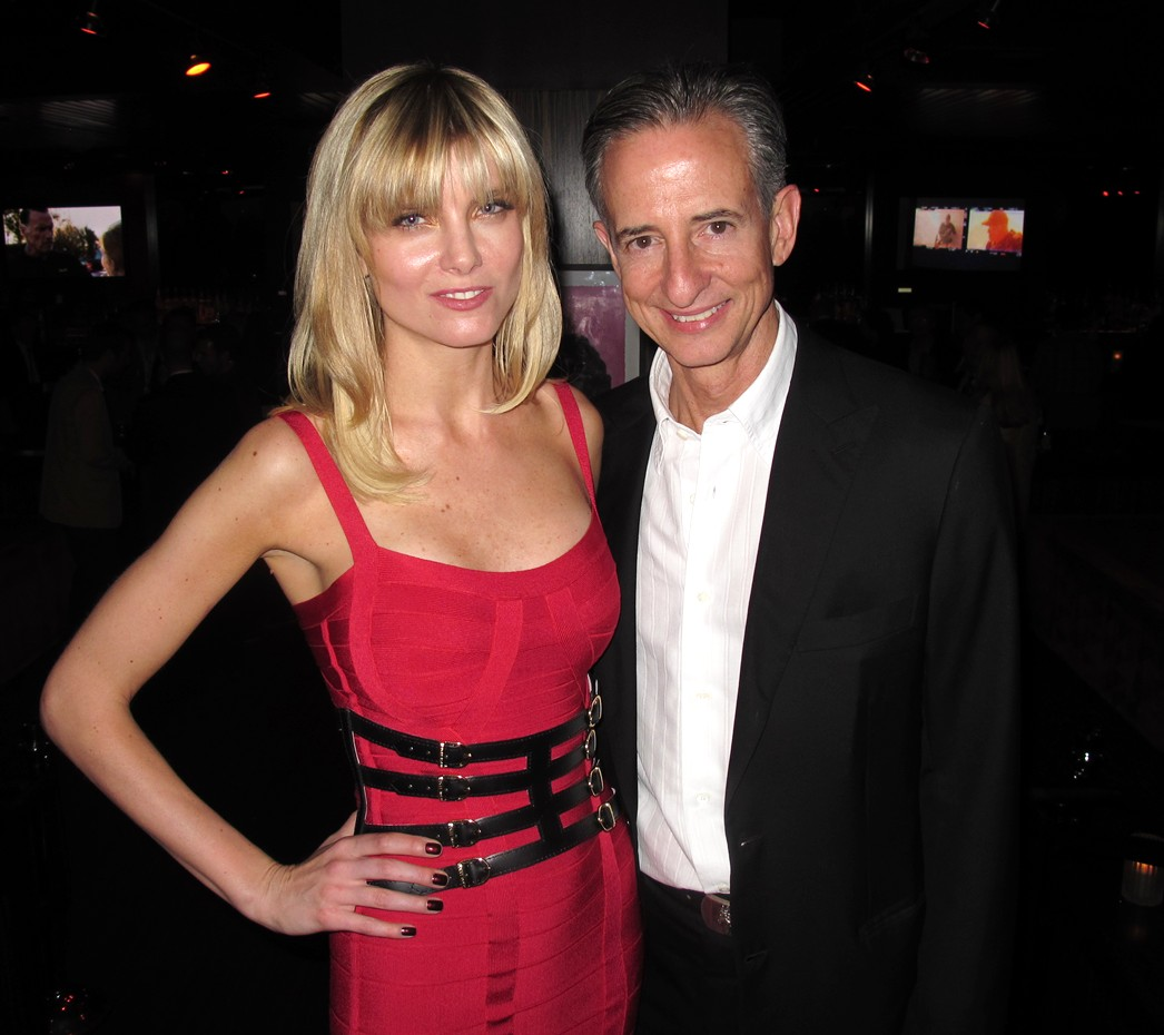 Eugenia Kuzmina-Bill Block-Sabotage_premiere_after_party