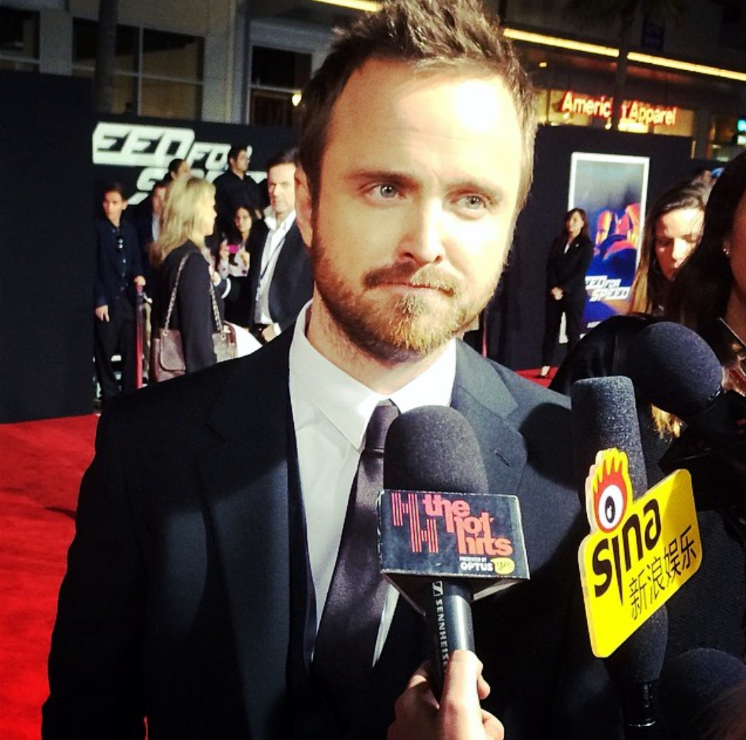 Need for Speed-Aaron Paul-premiere-Los Angeles