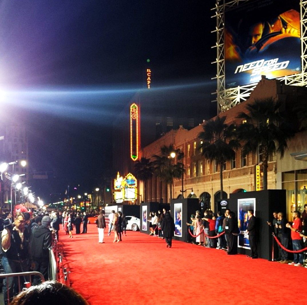 Need for Speed-premiere-Los Angeles