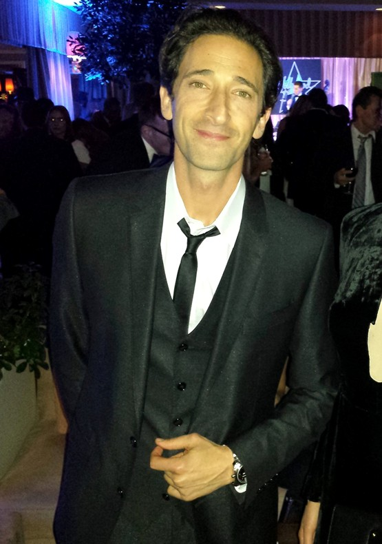 red hot roster February 2014 Adrien Brody