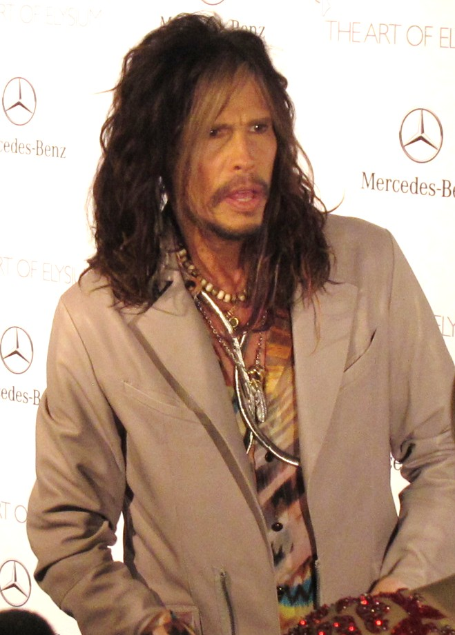 red hot roster February 2014 Steven Tyler