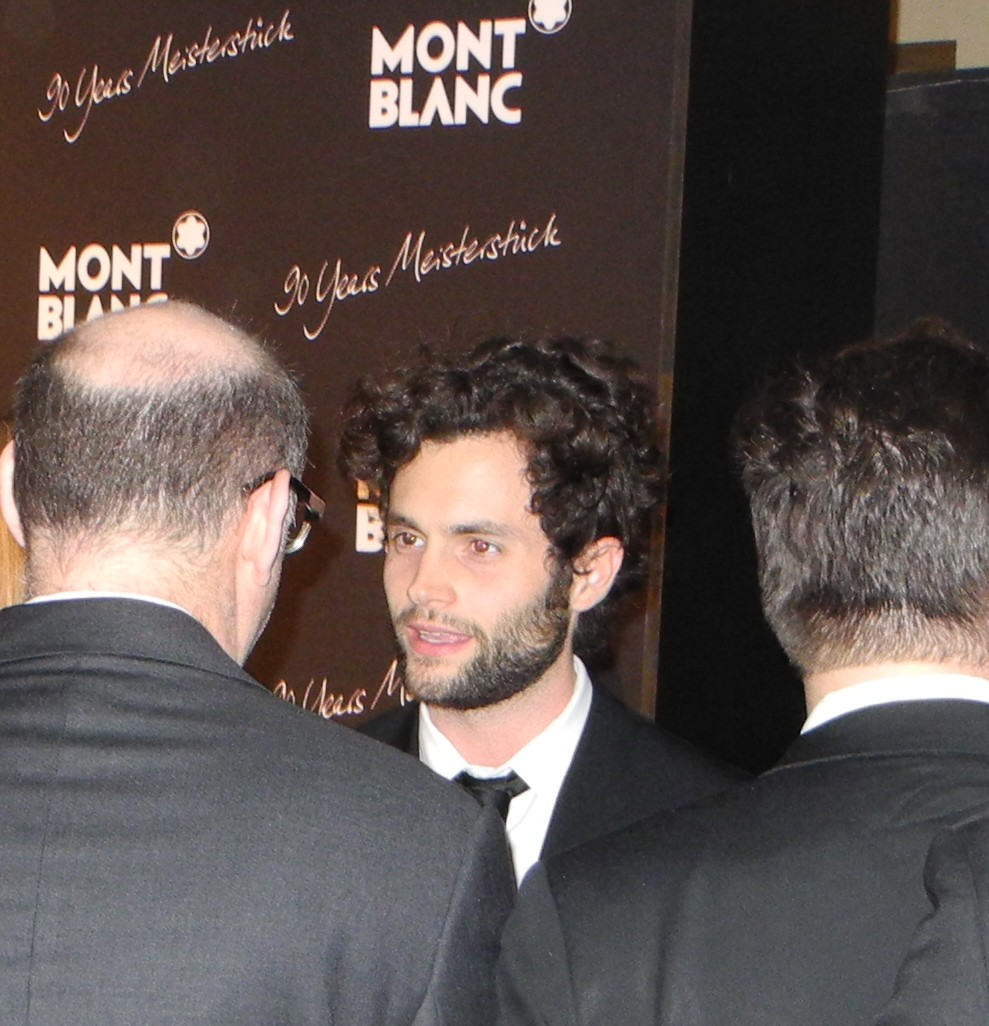 Penn Badgley + Montblanc Celebrates 90 Years Of Meisterstuck