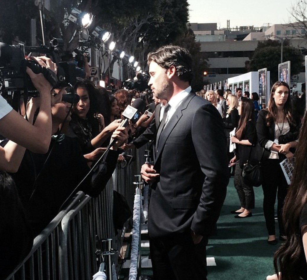 Draft Day movie Tom Welling premiere