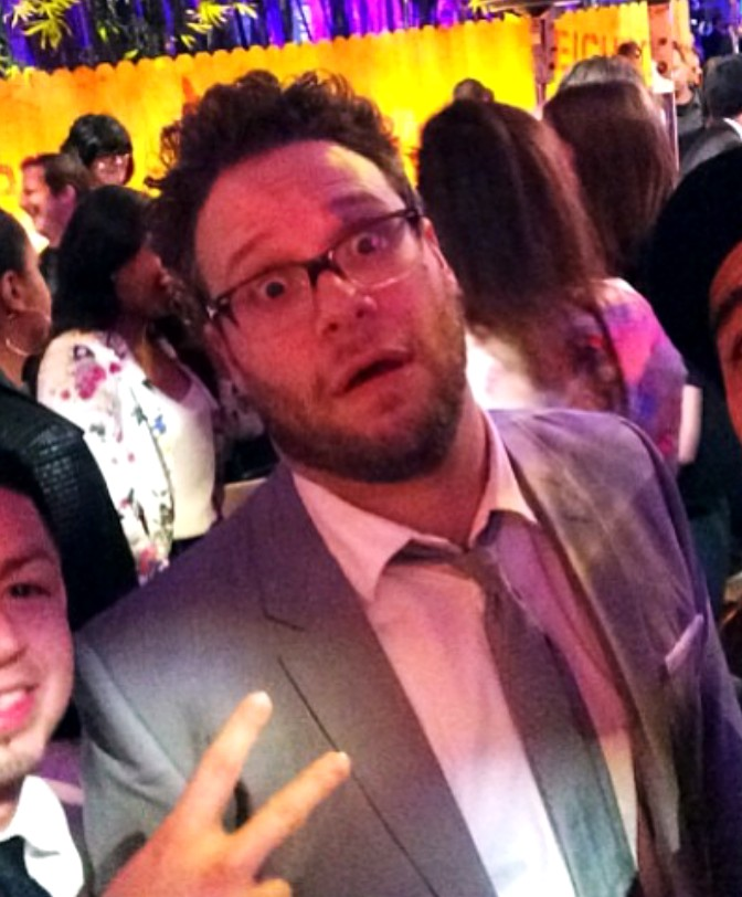 Seth Rogen Neighbors premiere