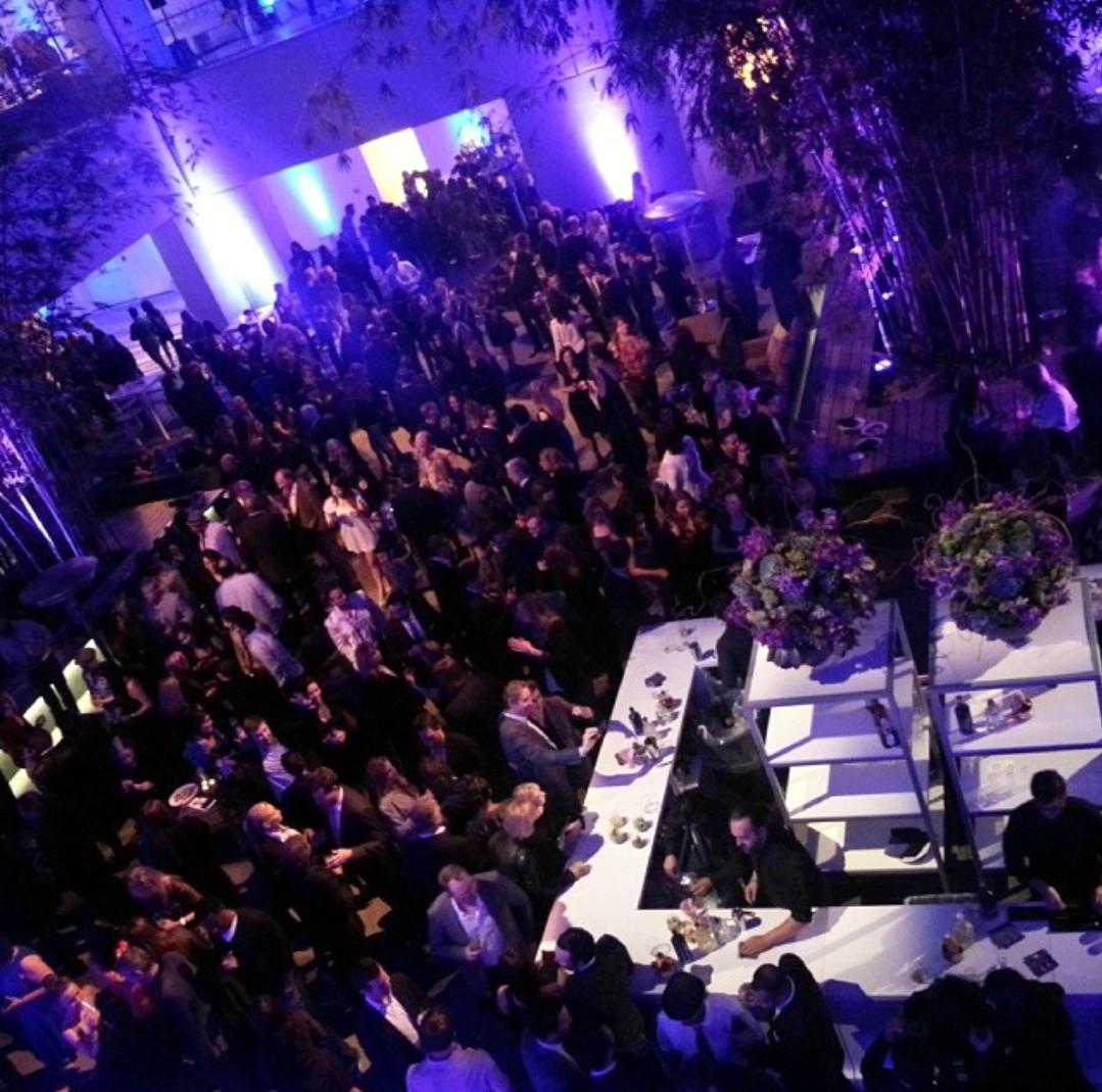 Transcendence premiere party