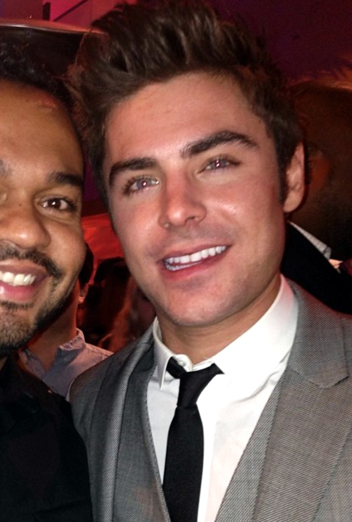 Zac Efron Neighbors Premiere