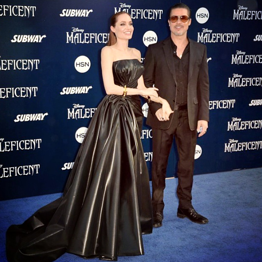 Angelina Jolie, Bradd Pitt, Maleficent