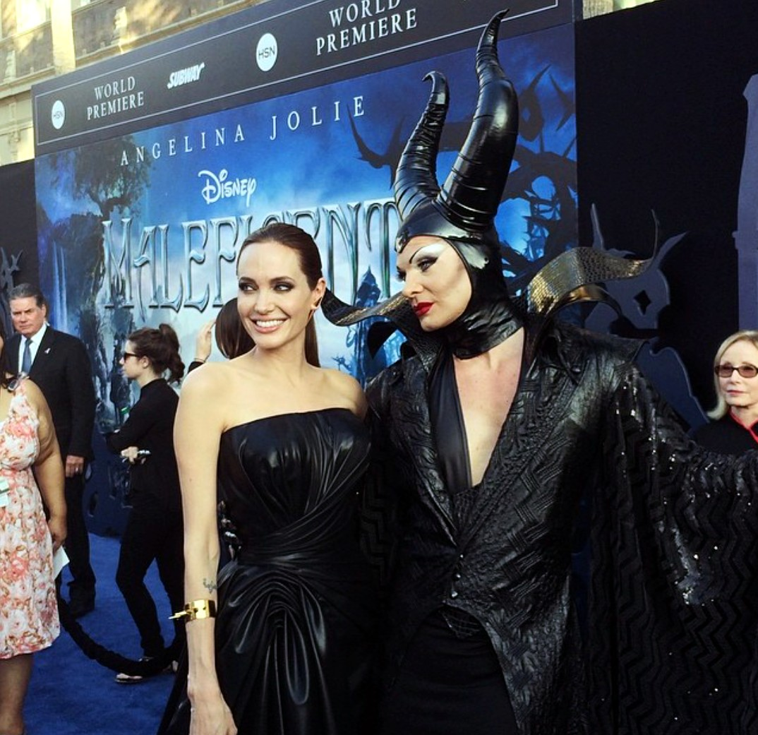 Angelina Jolie, Maleficent, premiere