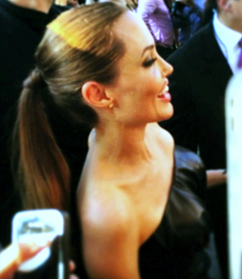 Angelina Jolie, movie premiere, Maleficent