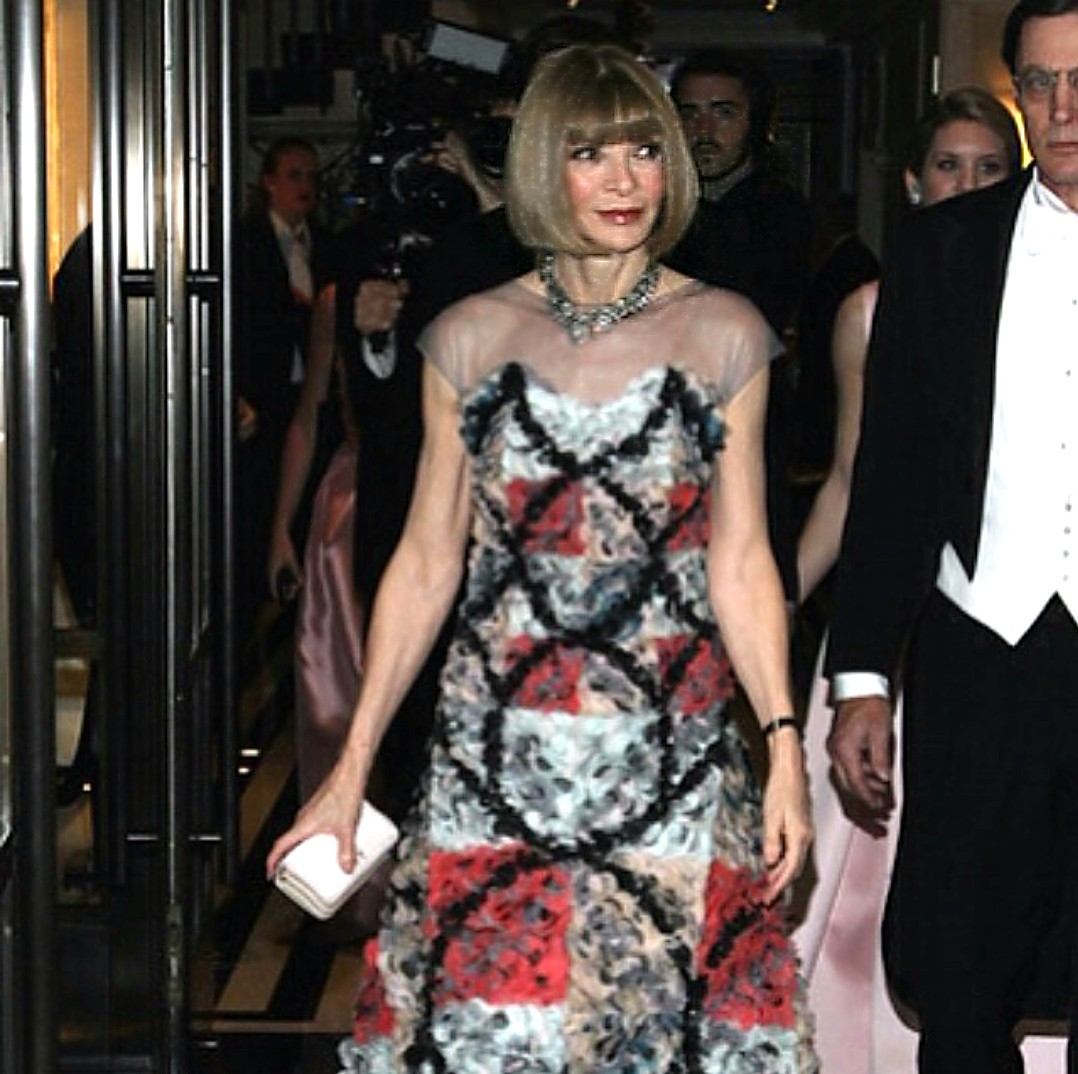 Anna Wintour + MetGala After Party