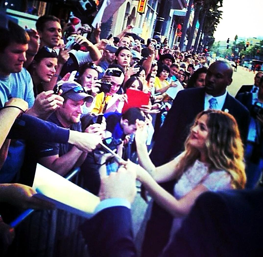 Blended, Drew Barrymore, movie premiere LA
