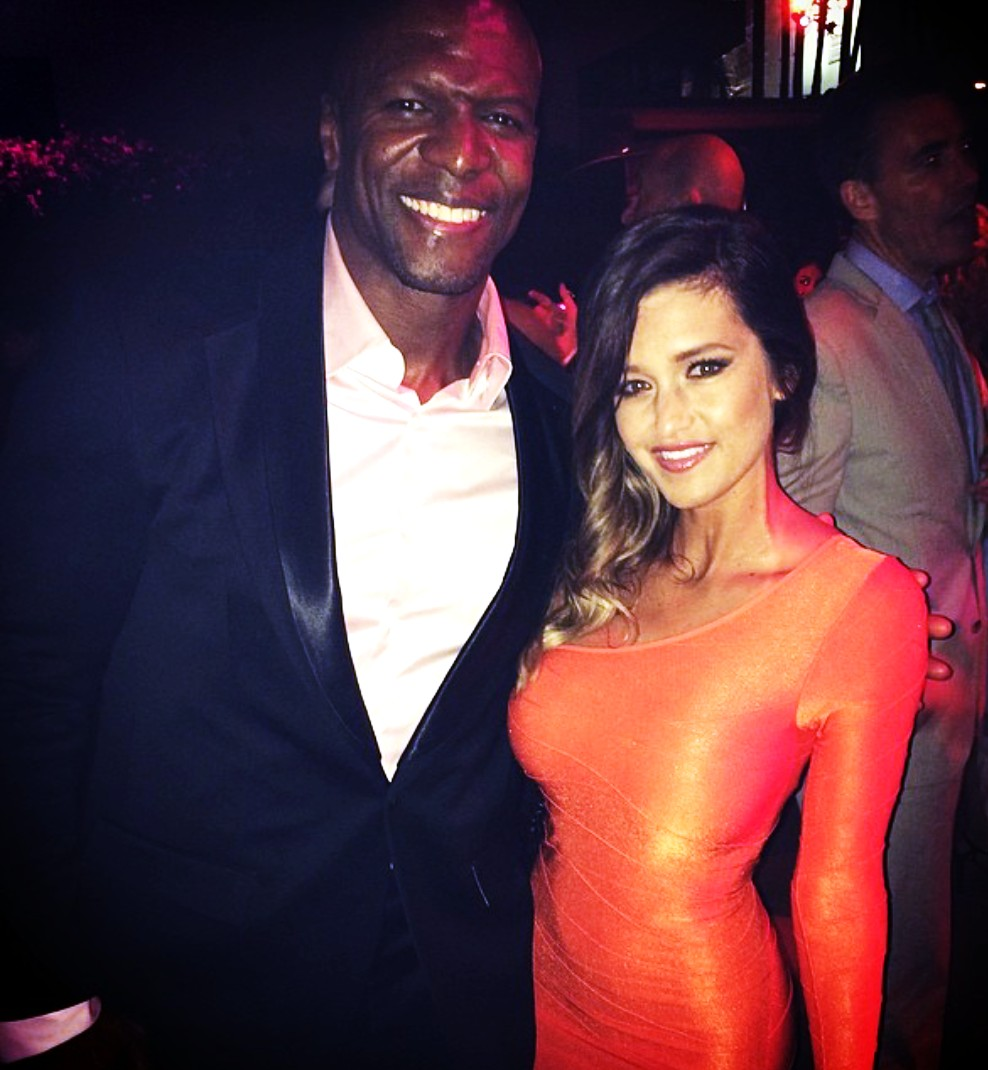 Blended, Terry Crews, movie after party