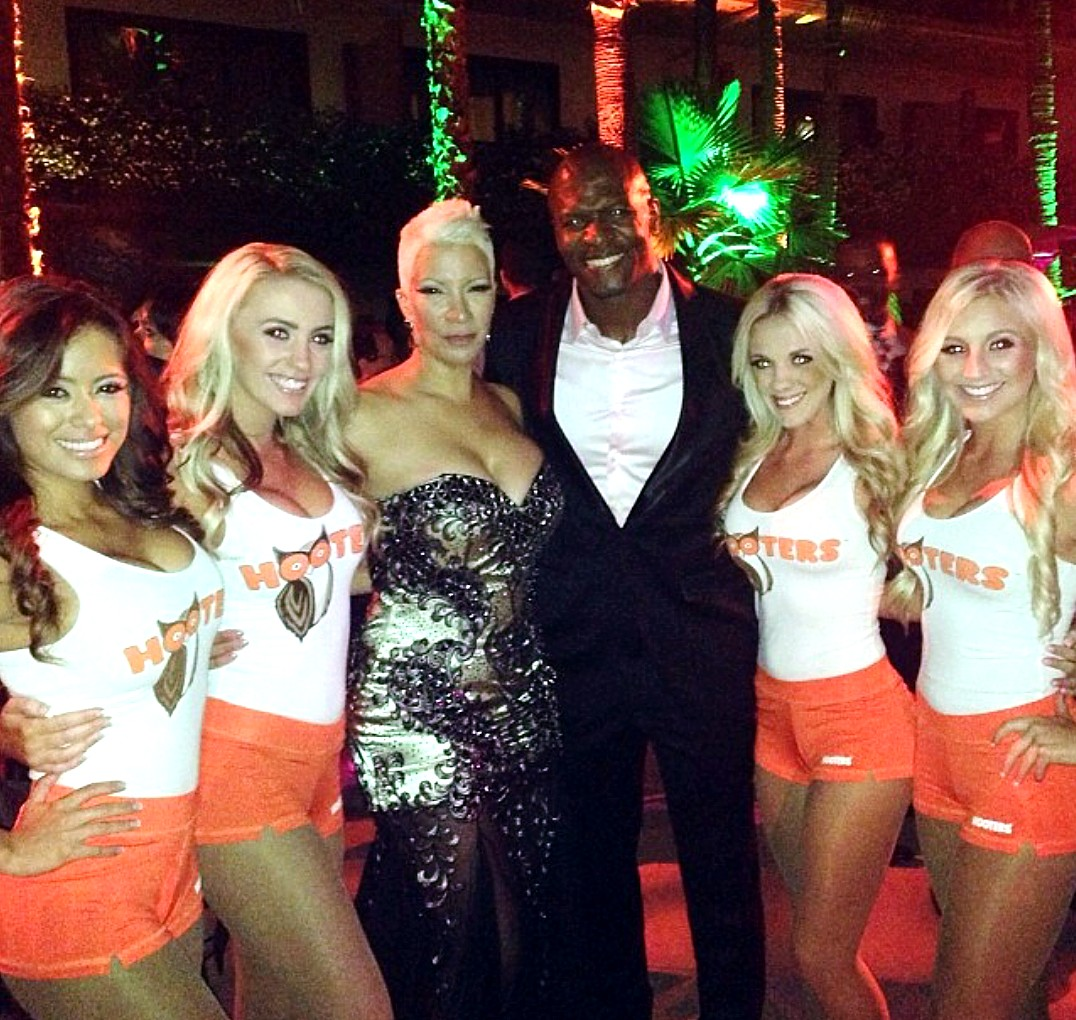 Blended, Terry Crews, movie premiere, Hooters