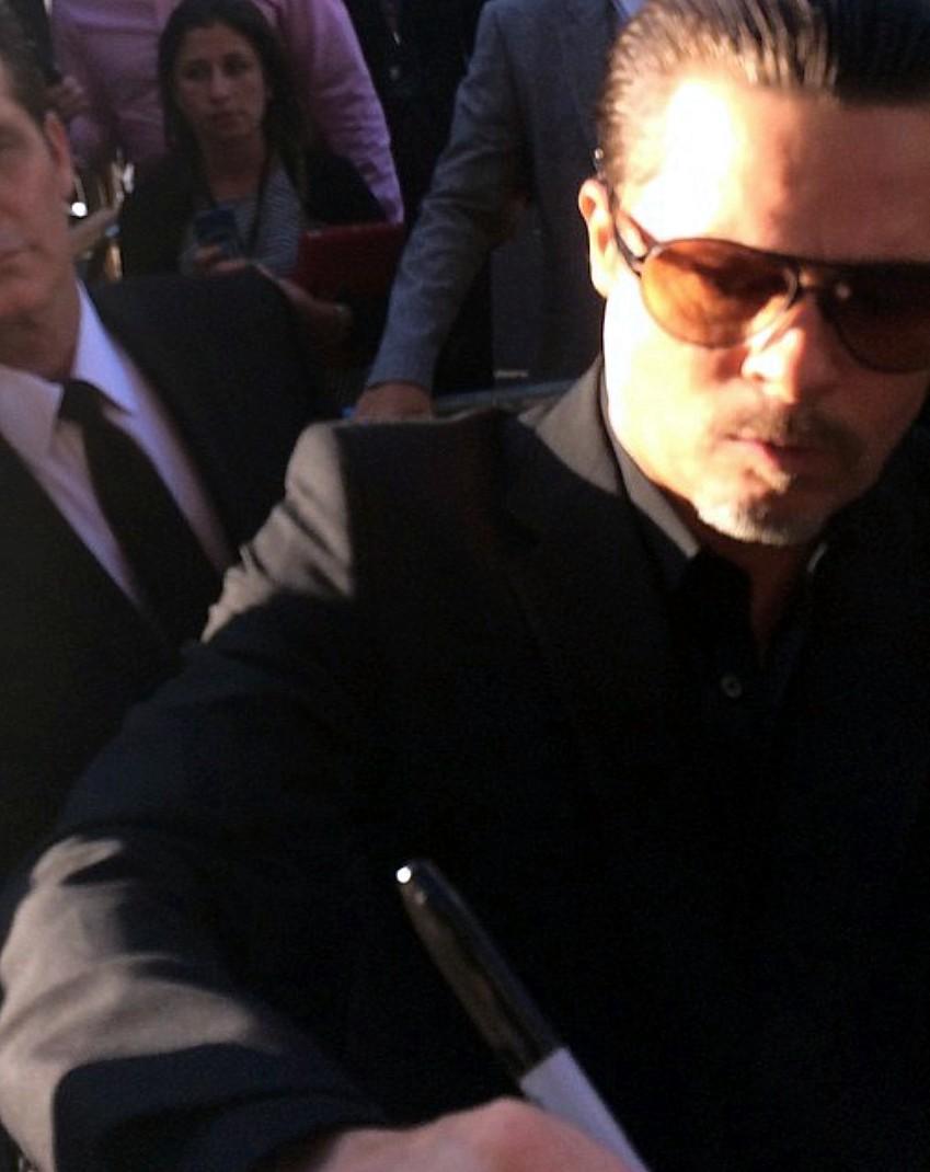 Brad Pitt, Maleficent