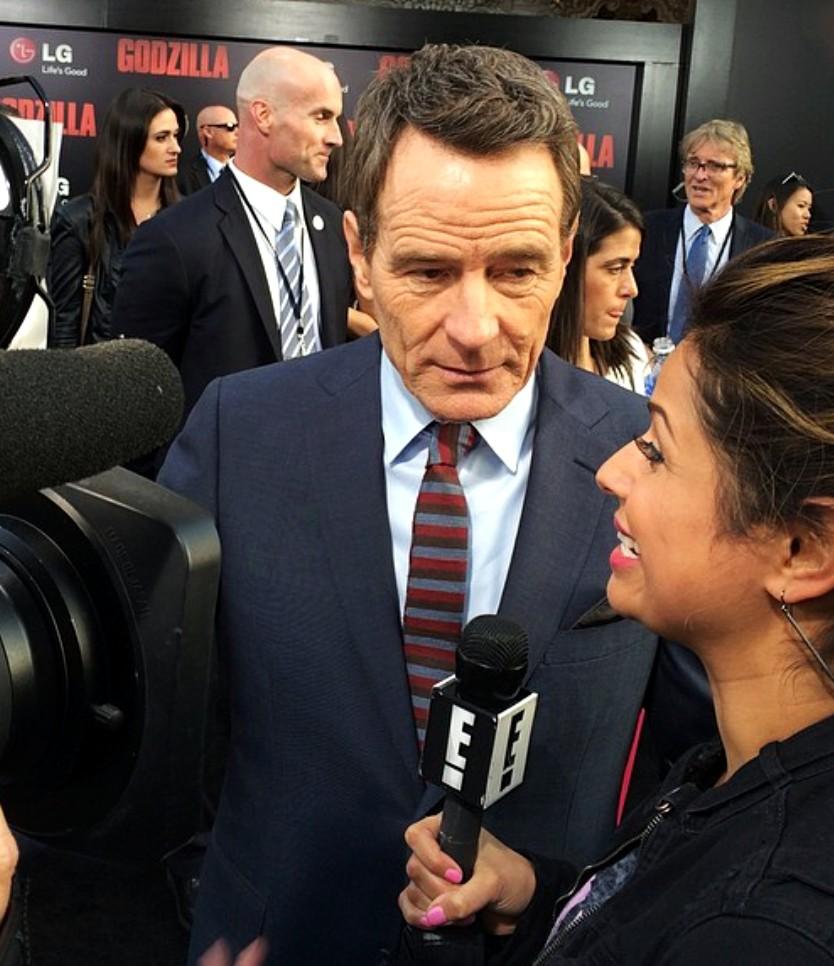 Bryan Cranston + Godzilla Premiere