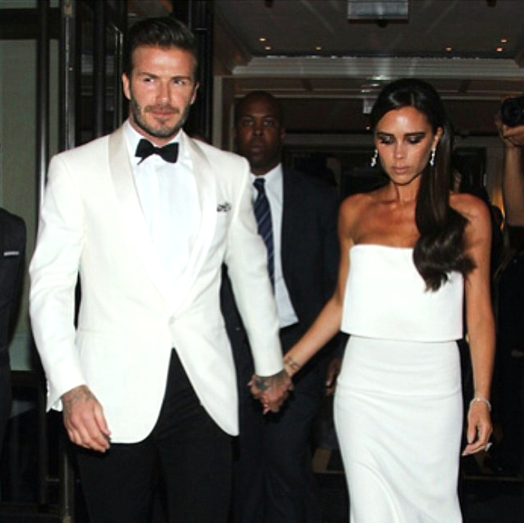 David Beckham + Victoria Beckham + The Mark Hotel