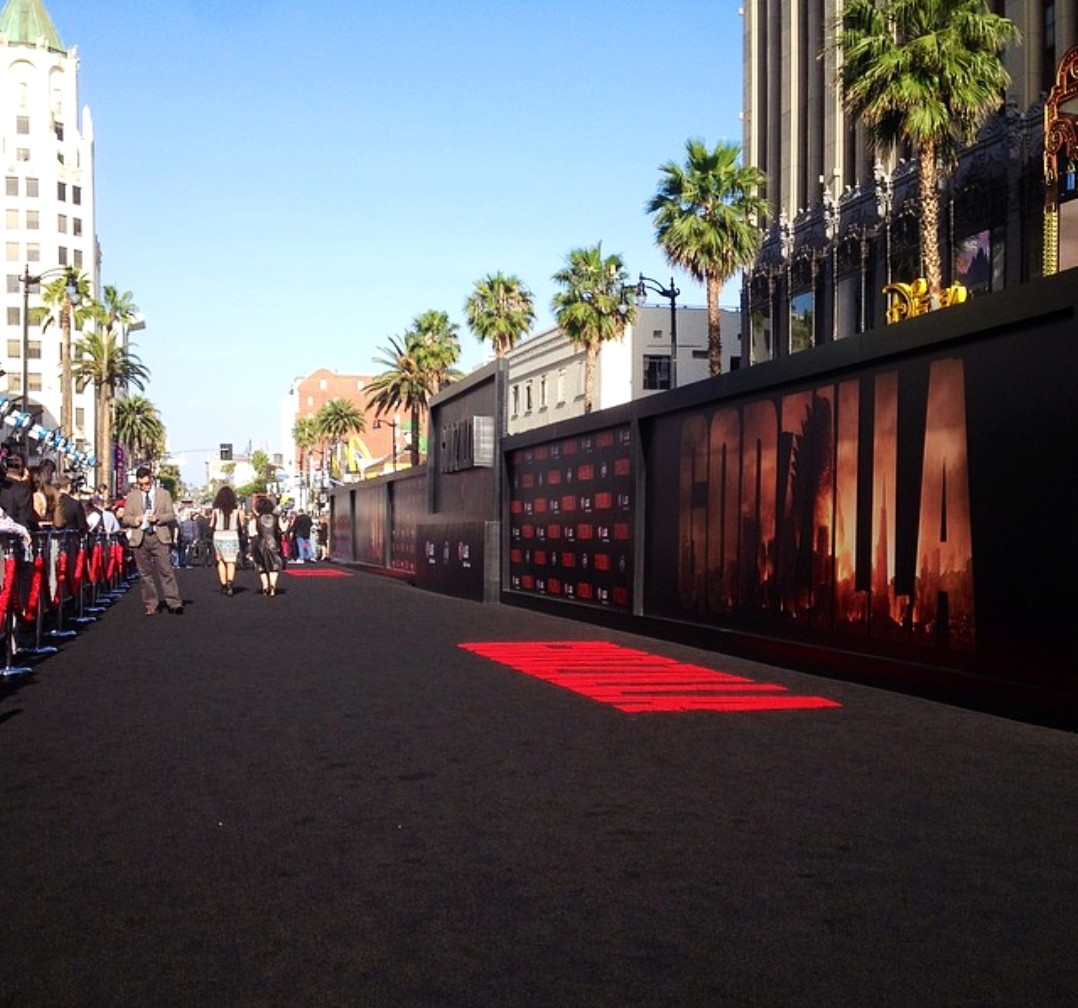 Godzilla Premiere + Black Carpet