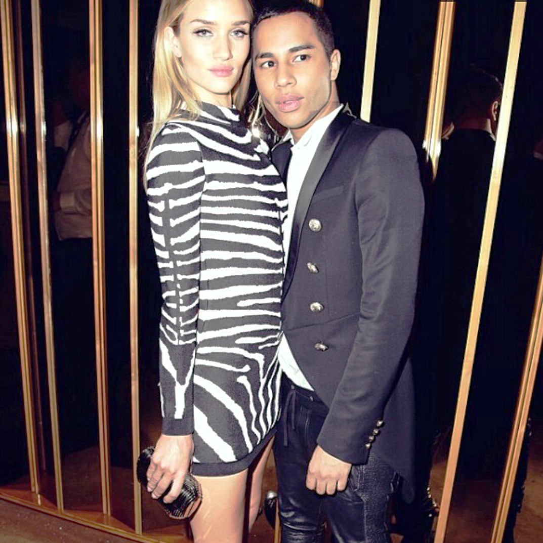 Rosie Huntington Whiteley_Olivier Rousteing