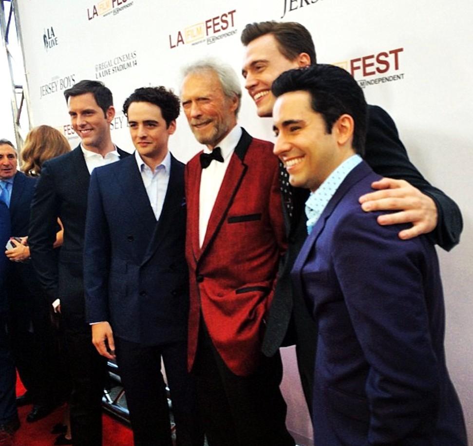 Jersey Boys + Clint Eastwood + premiere