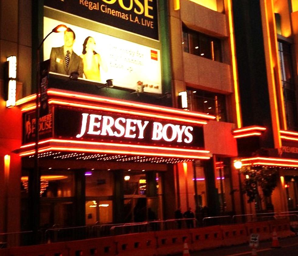 Jersey Boys + movie