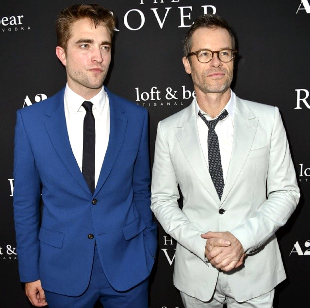 The Rover + Robert Pattinson + Guy Pearce