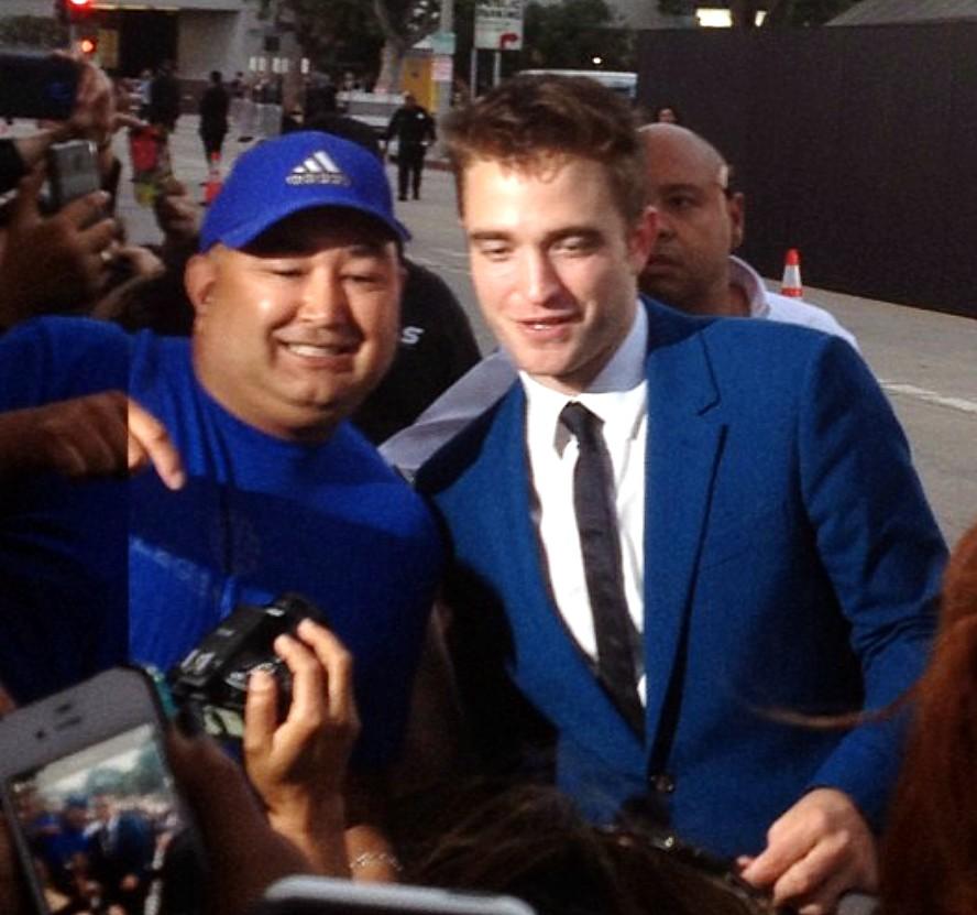 The Rover + Robert Pattinson + movie + premiere